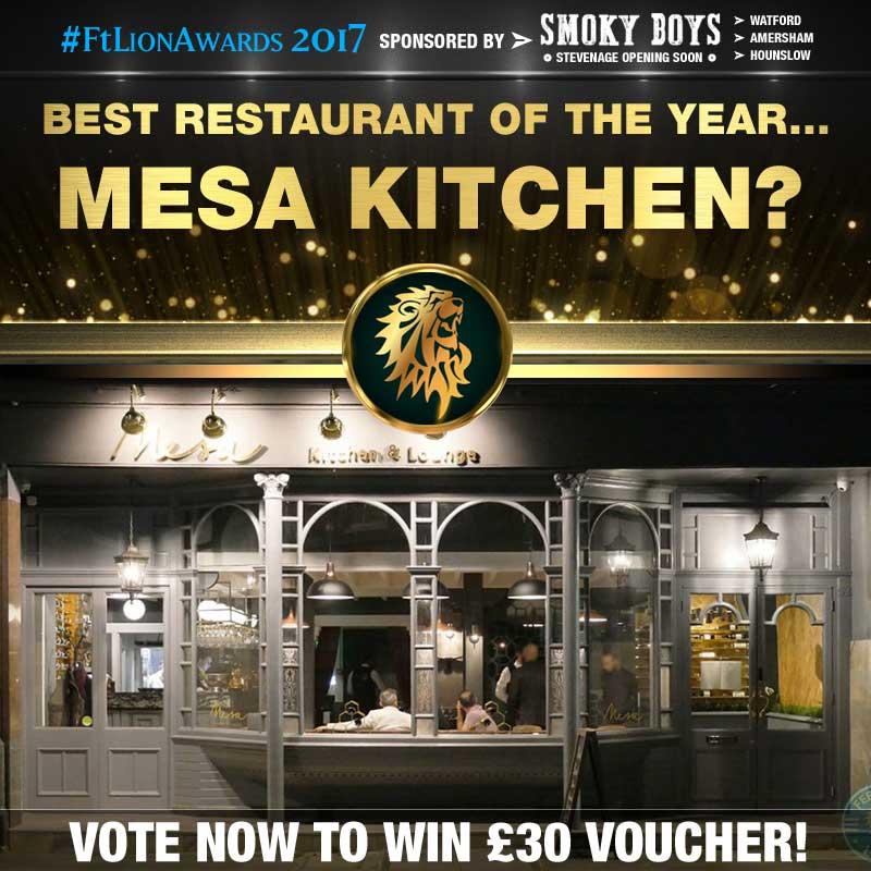 restaurants, best of, top 5, london, mesa kitchen,