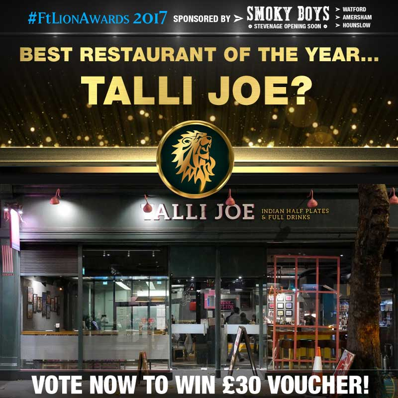 restaurants, best of, top 5, london, Talli Joe