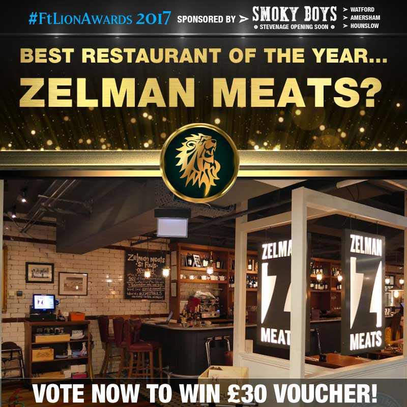 restaurants, best of, top 5, london, Zelman Meats