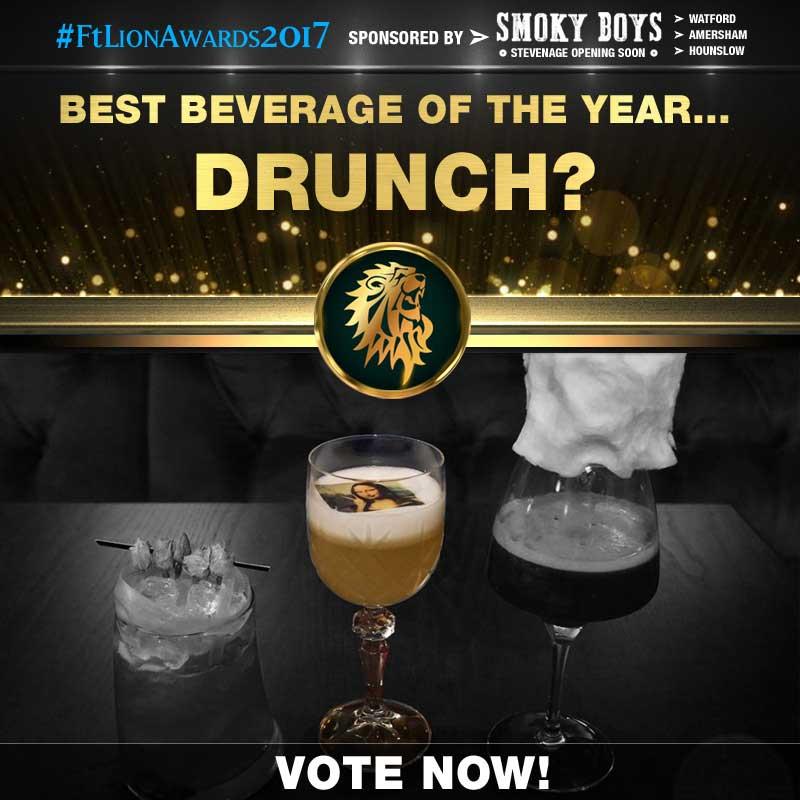 FtLion Awards 2017 Smoky Boys Beverage Drinks Drunch