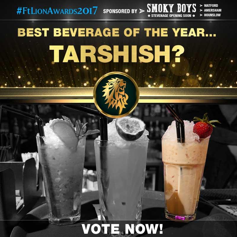 FtLion Awards 2017 Smoky Boys Beverage Drinks Tarshish