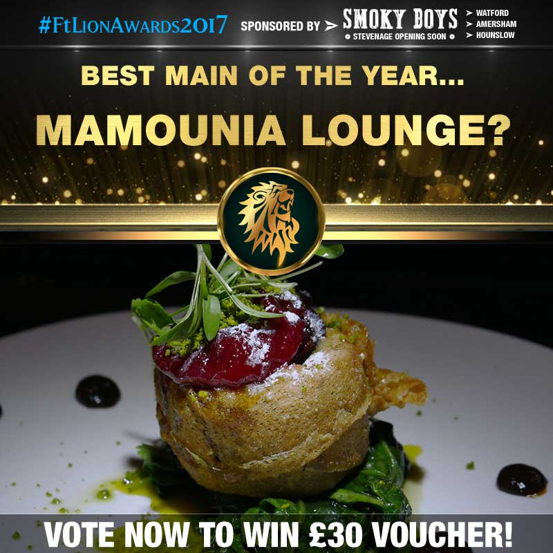 FtLion Awards 2017 Smoky Boys Main Mamounia Lounge Duck