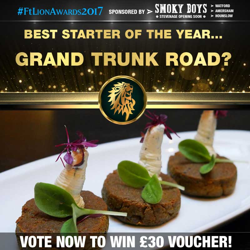FtLion Awards 2017 Smoky Boys Starters Chai Naasto kebab