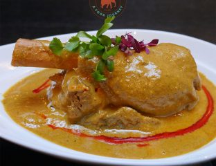 lamb shank Grand Trunk Road GT GTR Indian Restaurant South Woodford London Halal Curry