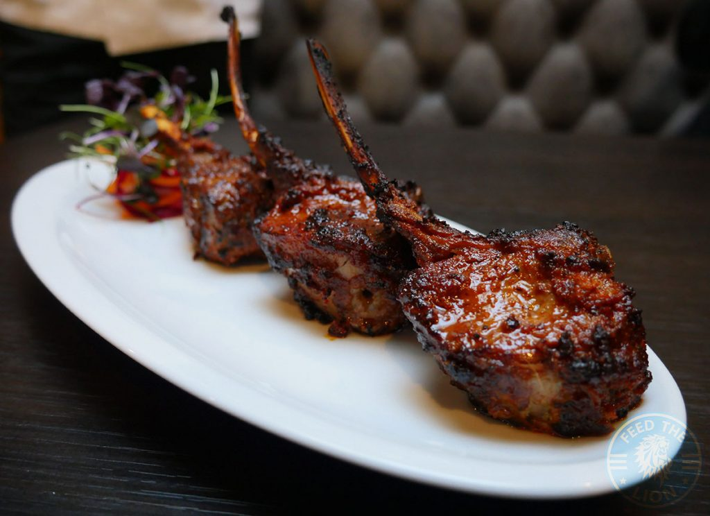 Grand Trunk Road GT GTR Inidan Restaurant South Woodford London Halal Curry Lamb Chops