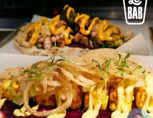 Le Bab Gourmet Kebabs Kingsly Court, Carnaby Street, Soho, London Halal