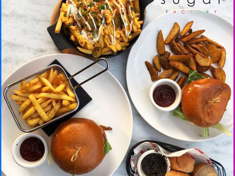 Suger Factory Dubai Halal Food Burger