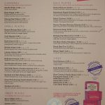 menu Talli Joe Indian Restaurant Covent Garden London Halal Shaftesbury Avenue