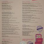 menu Talli Joe Indian Restaurant Covent Garden London Halal Shaftesbury Avenue