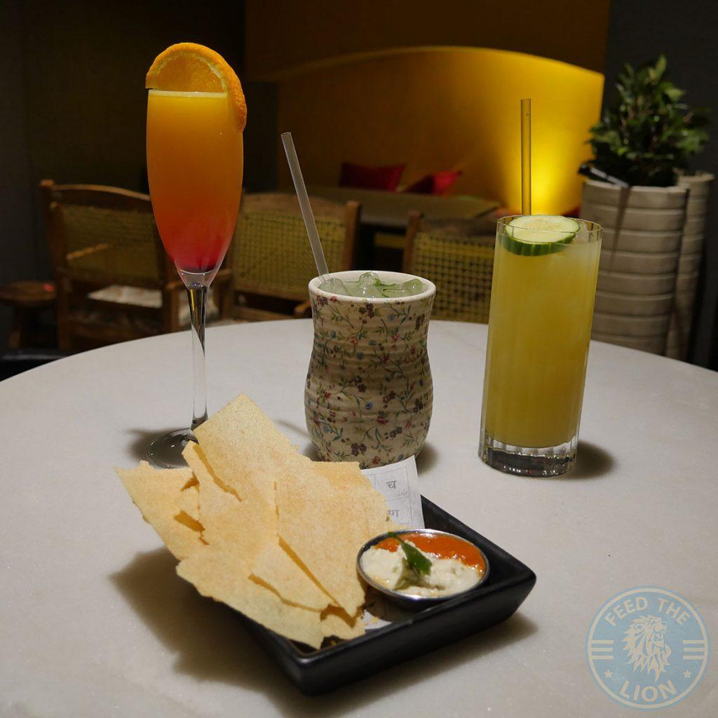drinks Talli Joe Indian Restaurant Covent Garden London Halal Shaftesbury Avenue