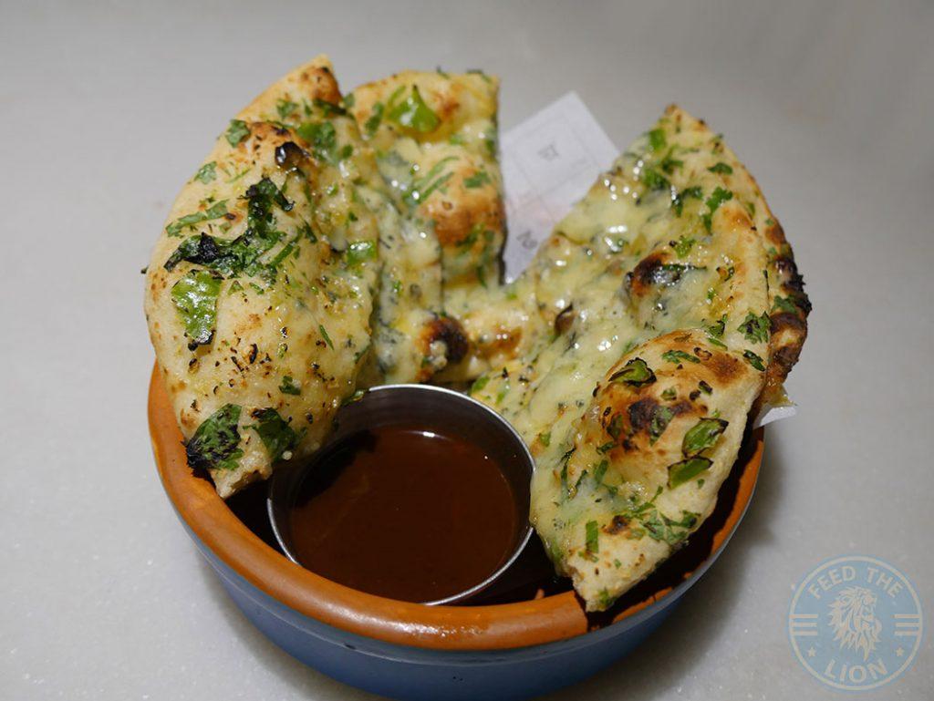 Garlic Naan Talli Joe Indian Restaurant Covent Garden London Halal Shaftesbury Avenue