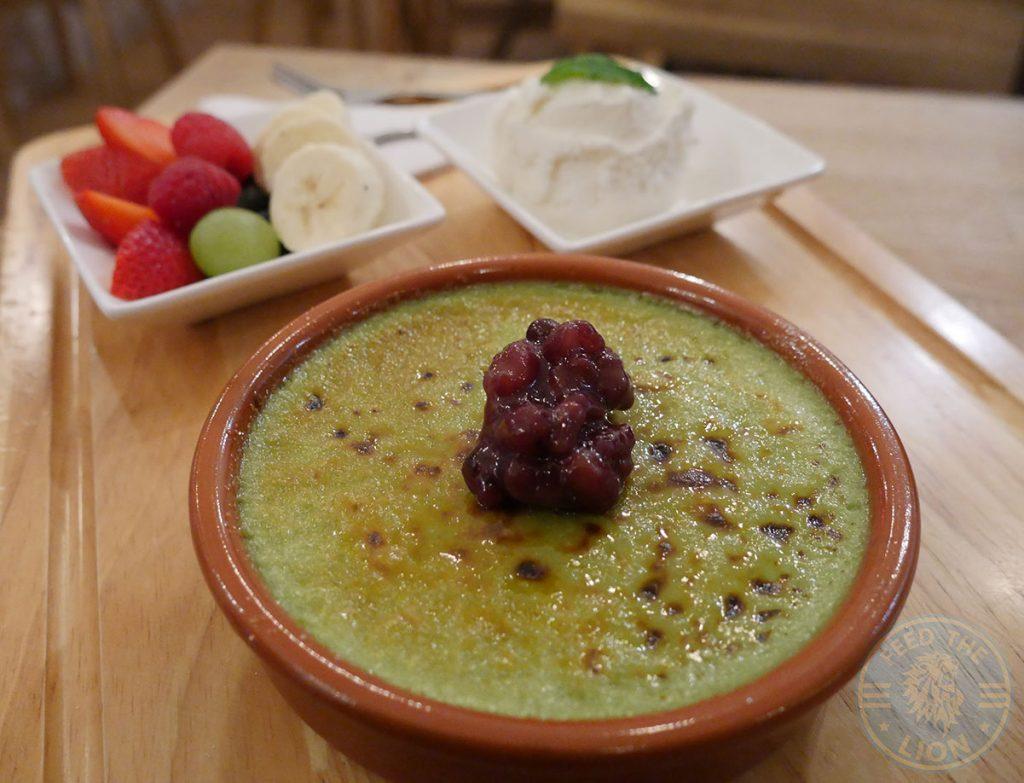creme brulee BobaJam Soho London Asian Dessert Parlour