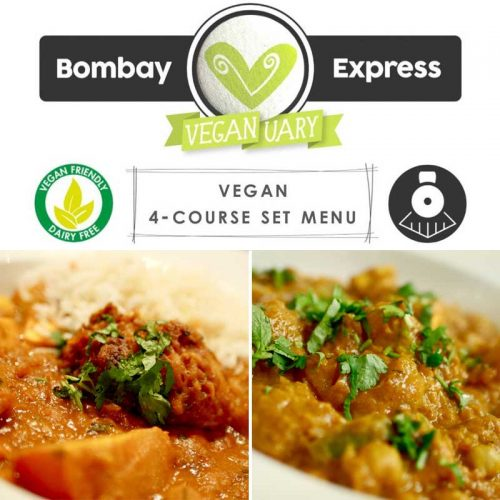Bombay Express Torquay Veganuary Vegan