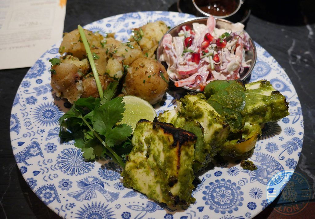 Dishoom Kensington Indian Irani Cafe Bombay PANEER TIKKA