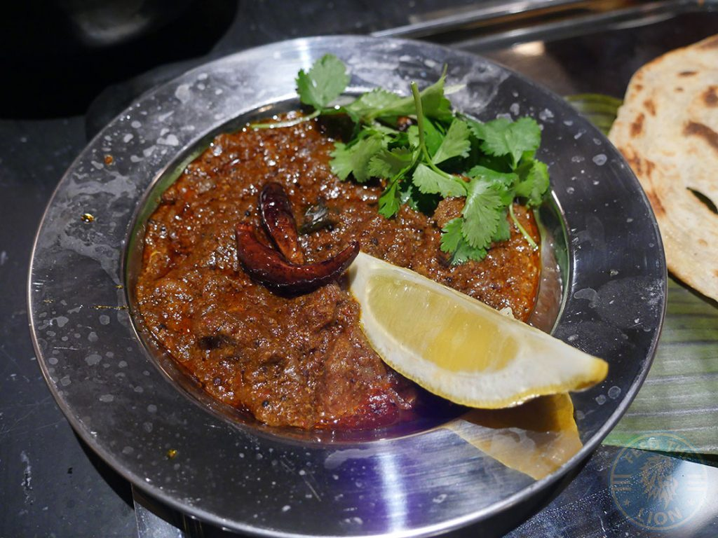 Dishoom Kensington Indian Irani Cafe Bombay MUTTON PEPPER FRY