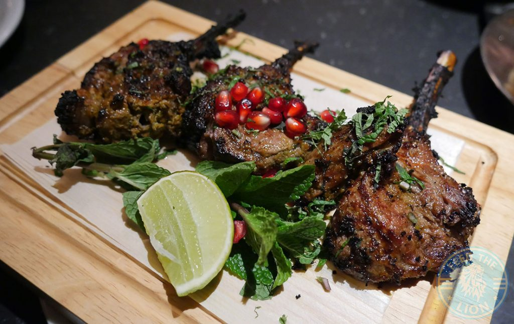 Dishoom Kensington Indian Irani Cafe Bombay Lamb Chops