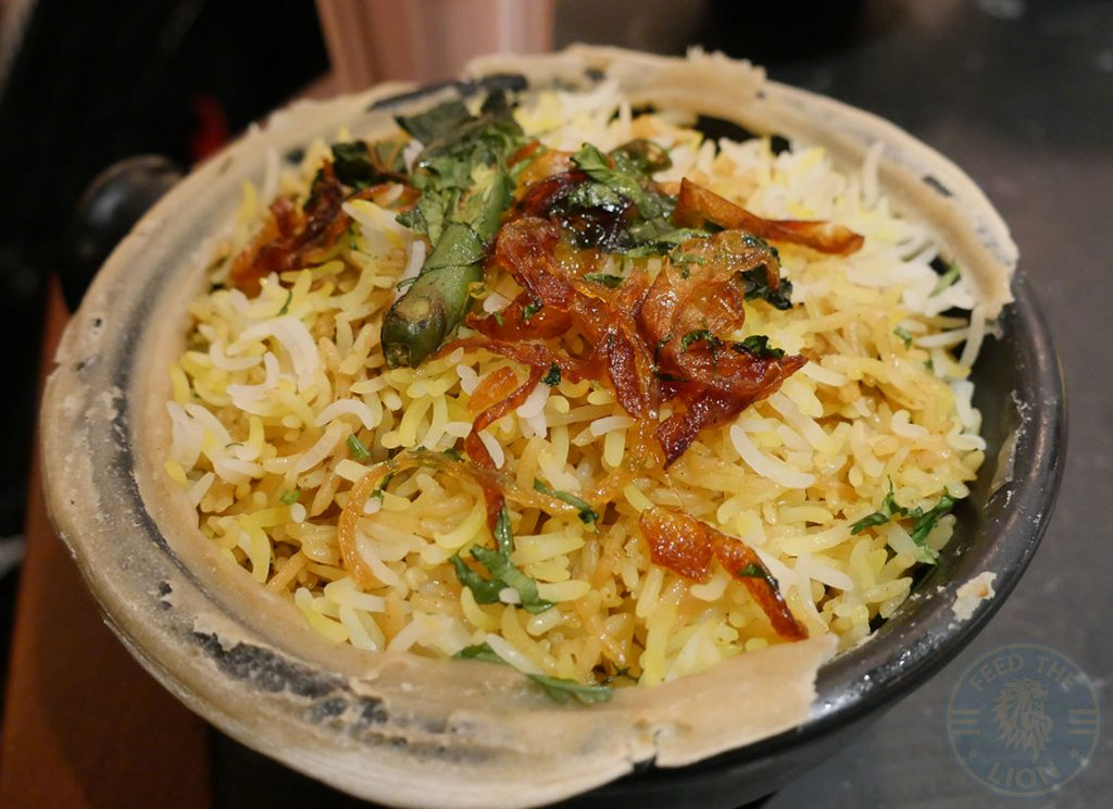 Dishoom Kensington Indian Irani Cafe Bombay LAMB BIRYANI