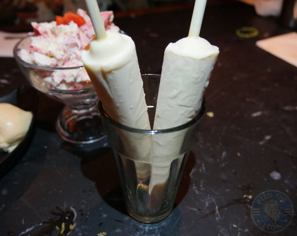 Dishoom Kensington Indian Irani Cafe Bombay MALAI KULFI dessert