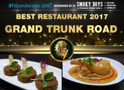 Best Restaurant 2017 - Grand Trunk Road, London
