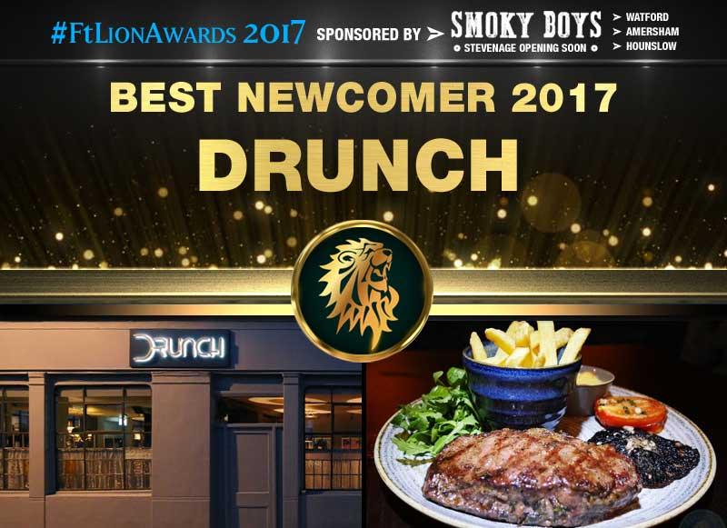 Best Newcomer 2017 - Drunch, Regent's Park, London