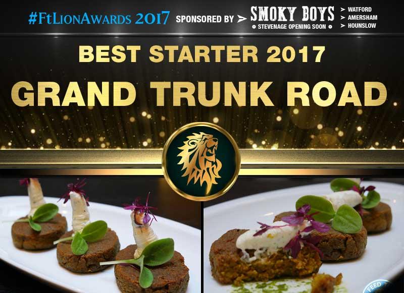 Best Starter 2017 - Grand Trunk Road, London