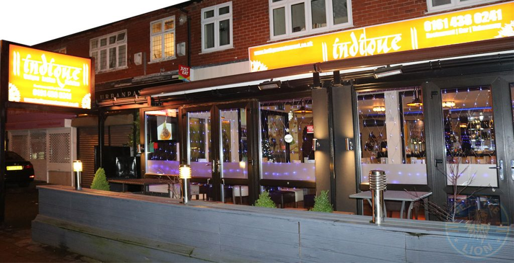 indique indian restaurant Manchester Halal Curry 0181 438 0241