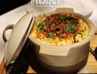 indique indian restaurant Manchester Halal Curry biryani rice
