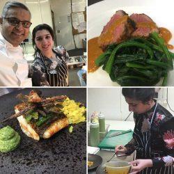 Masterchef Winner 2017 Saliha Mahmood & double Michelin Star Chef Atul Kochhar
