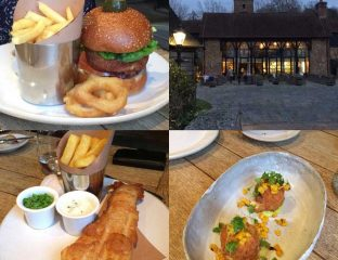 The Barn Cowarth Park Dorchester Ascot Burgers Fish Chips