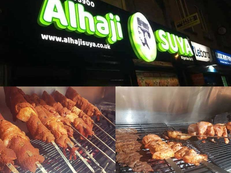 Alhaji Suya Nigerian Peckham London Kebab