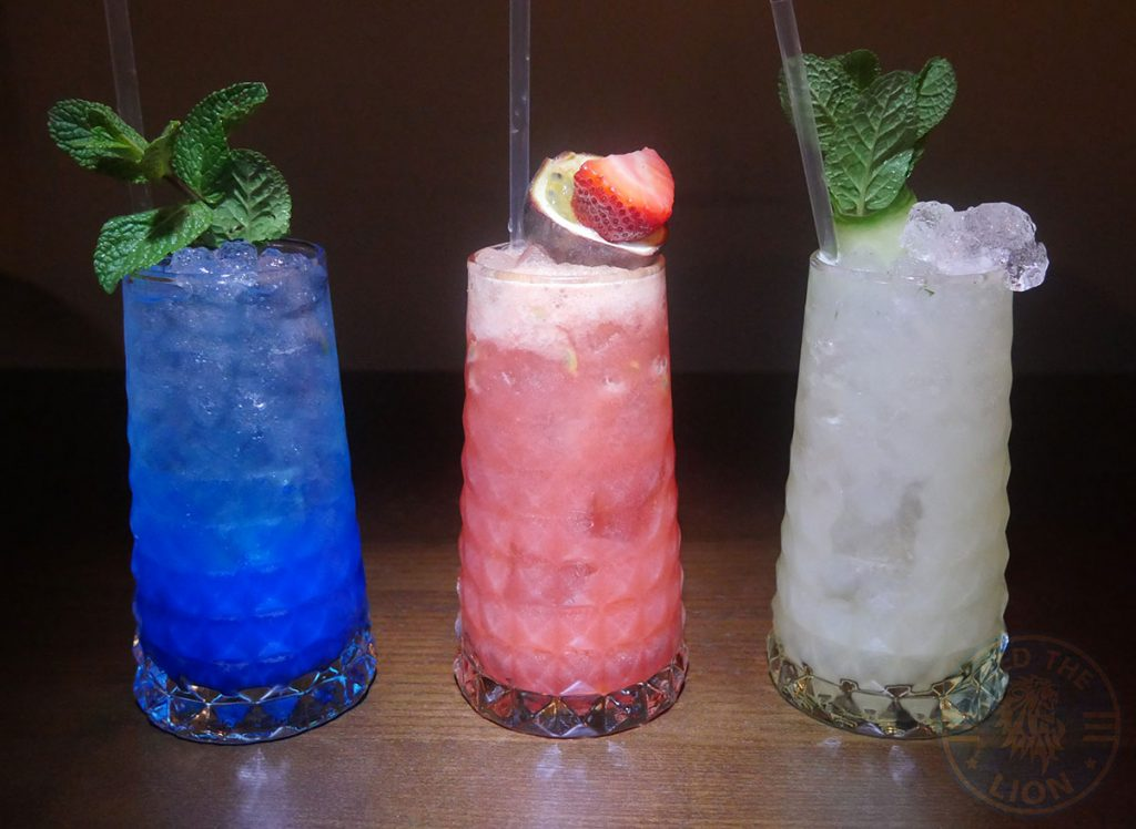 Drunch Regents Park London Restaurant Halal Mayfair drinks mocktails