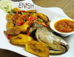 Enish Nigerian Finchley Restaurant Halal Fish Sea bass