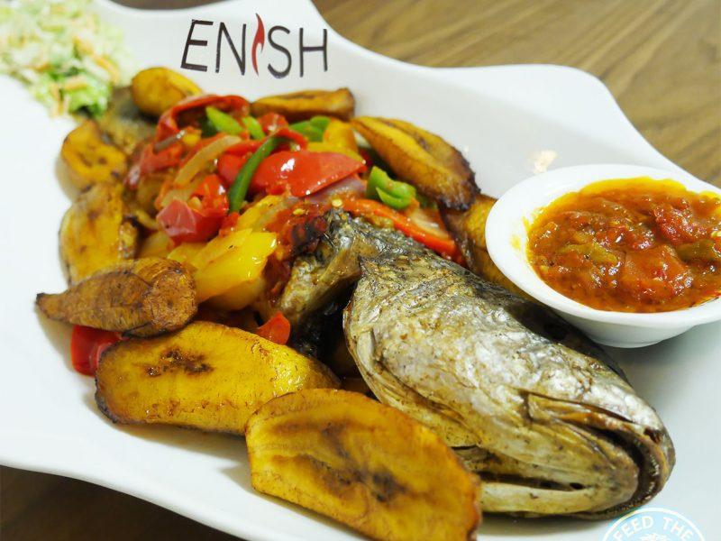 Enish Nigerian Finchley Restaurant Halal Fish Sea bass
