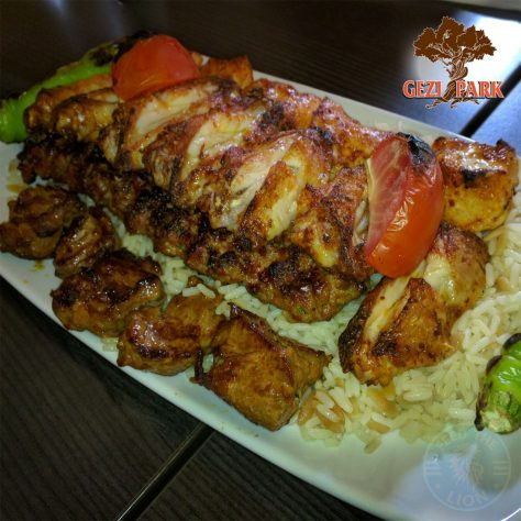Gezi Park Wanstead halal turkish mixed grill meat