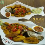 Enish Nigerian Finchley Restaurant Halal lamb fish