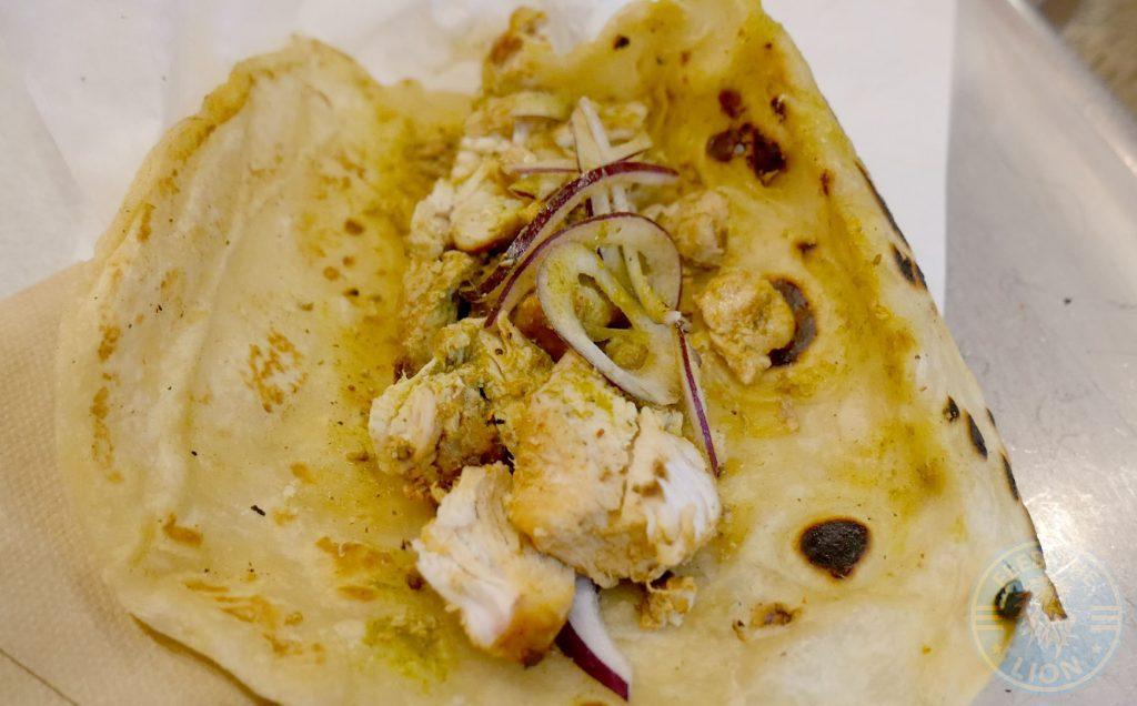 Soho London The Kati Roll Company Indian Halal Roti Paratha chicken tikka
