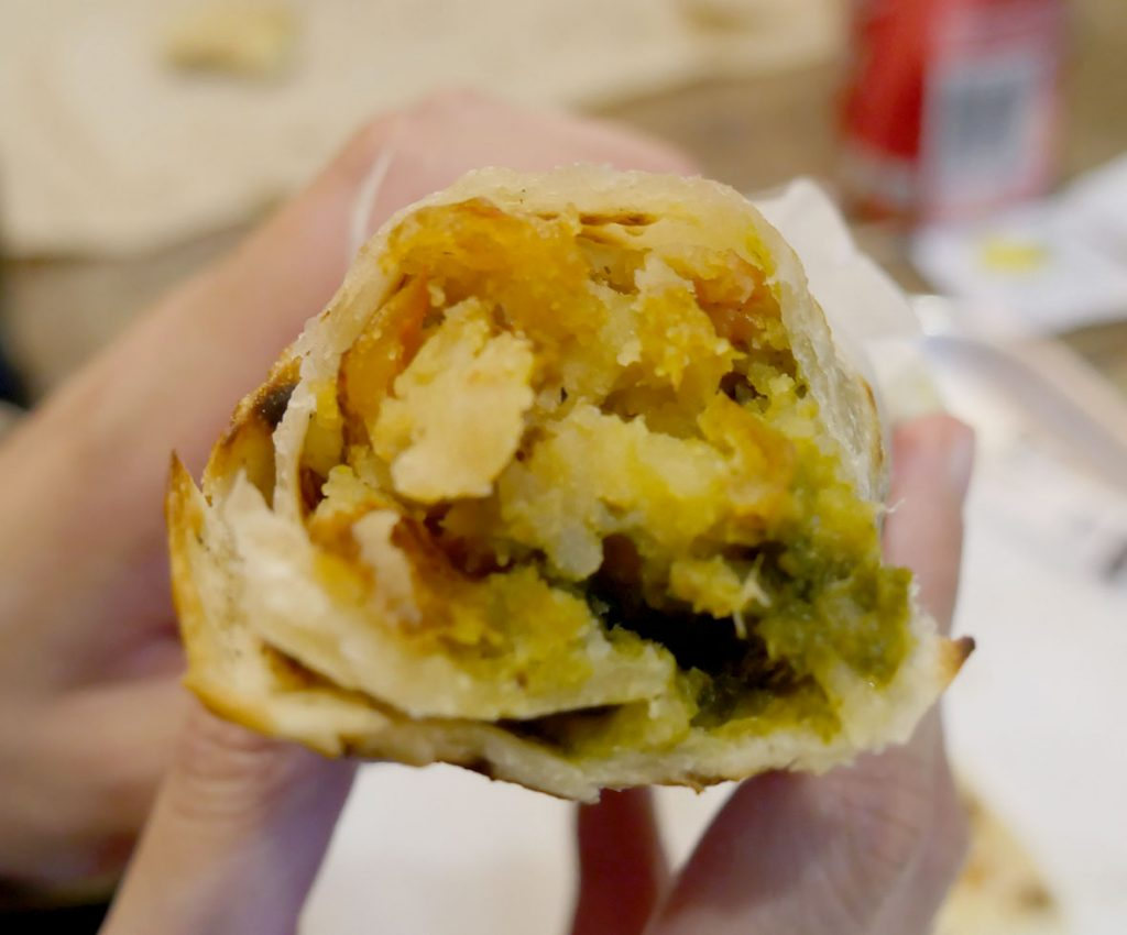 Soho London The Kati Roll Company Indian Halal Roti Paratha