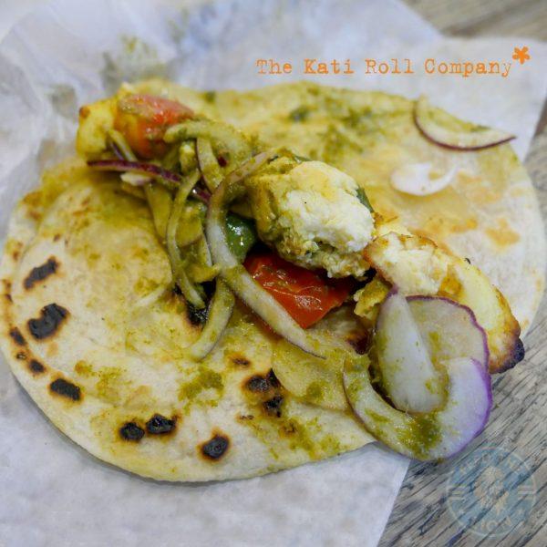 wrap Soho London The Kati Roll Company Indian Halal Roti Paratha