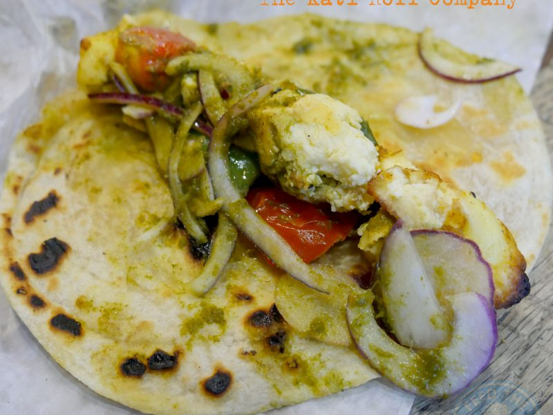 wrap Soho London The Kati Roll Company Indian Halal Roti Paratha