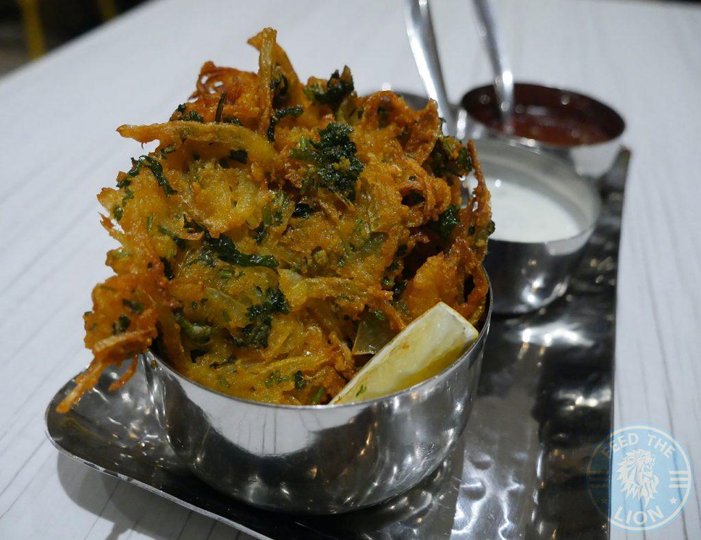 Bhaji Bhajee Pakora Thali Ho Surberton Halal Indian Restaurant London Middlesex Curry Award