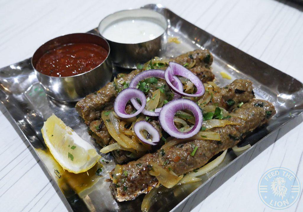kebab Thali Ho Surberton Halal Indian Restaurant London Asian Curry Awards
