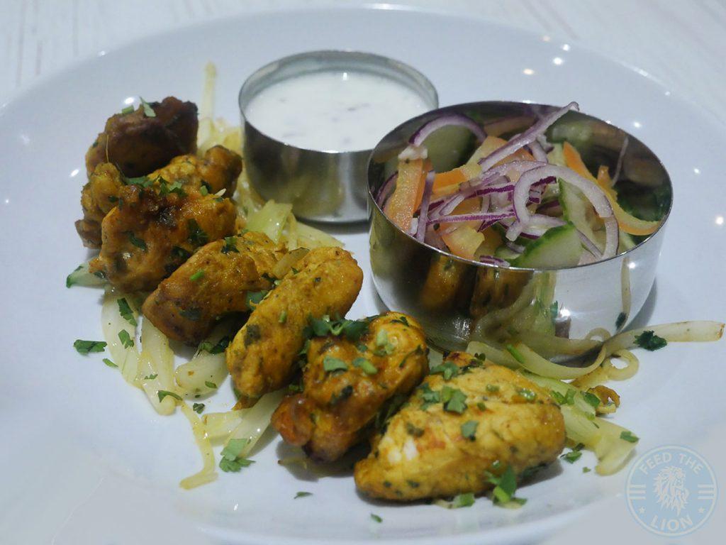 chicken Thali Ho Surbiton Halal Indian Restaurant London Asian Curry Awards