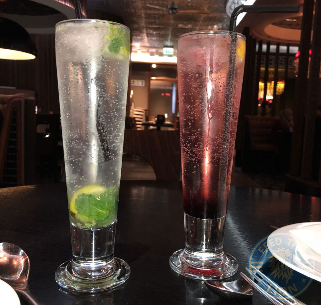 Tipu Sultan Birmingham Indian Fine Dining Restaurant Halal Drinks Mocktail