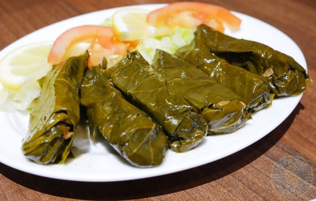 Yasmeen Restaurant Halal Lebanese Restaurant St Johns Wood Vine Leaves