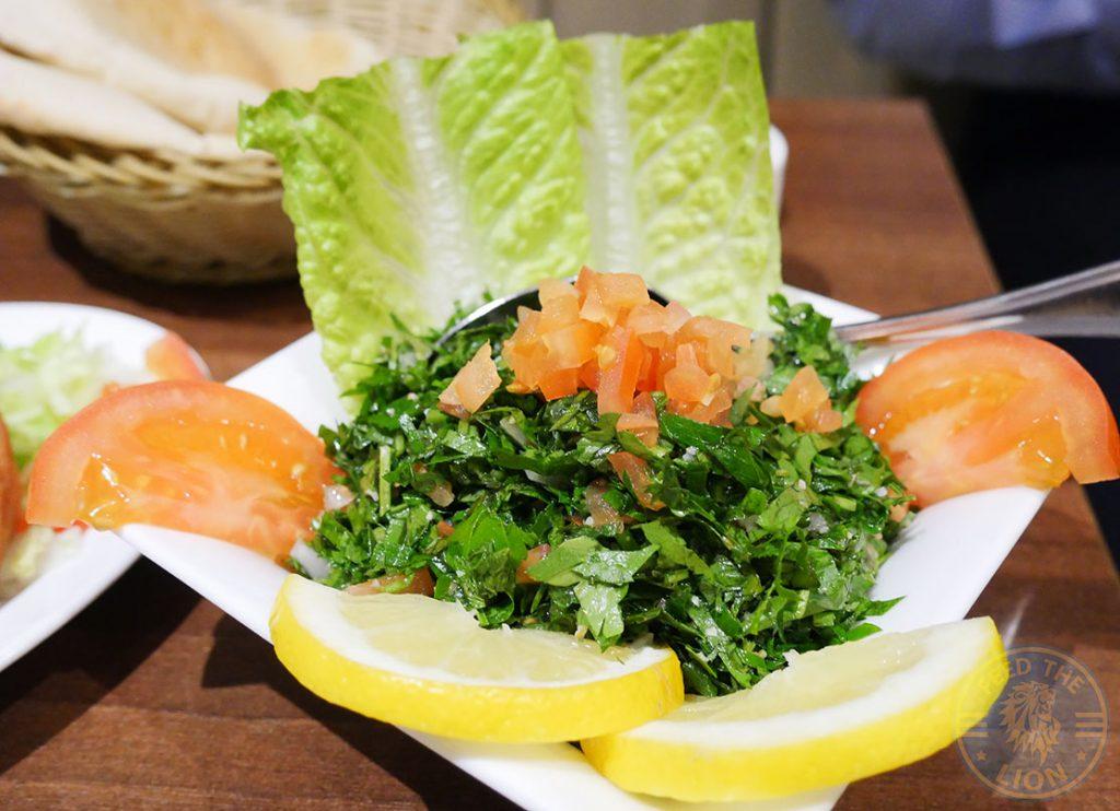 Yasmeen Restaurant Halal Lebanese Restaurant St Johns Wood Food Tabouleh