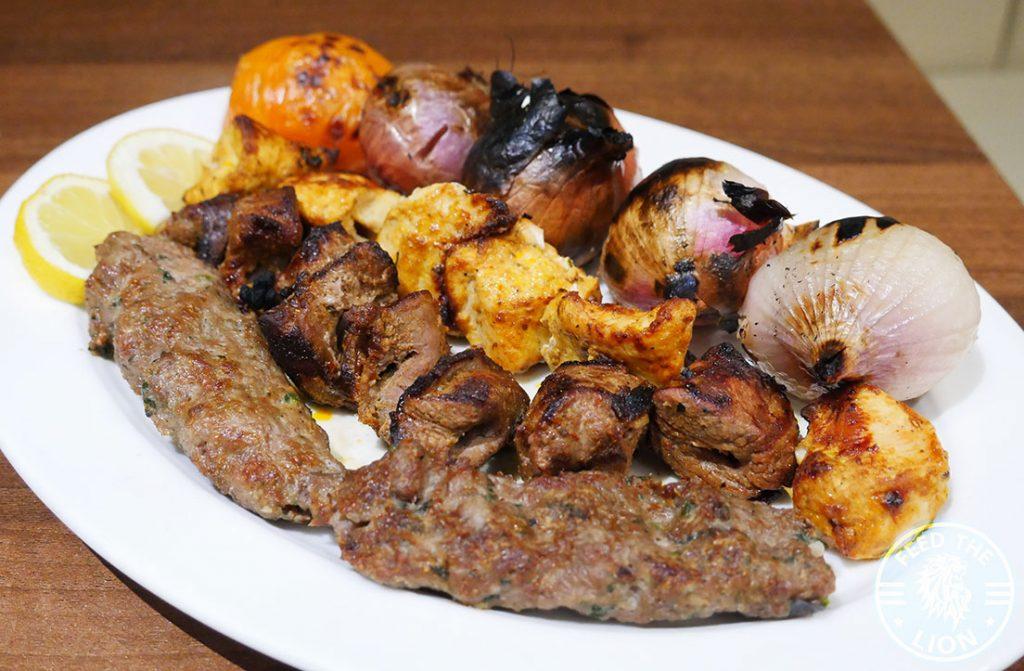Yasmeen Restaurant Halal Lebanese Restaurant St Johns Wood Mixed Grill Kebab