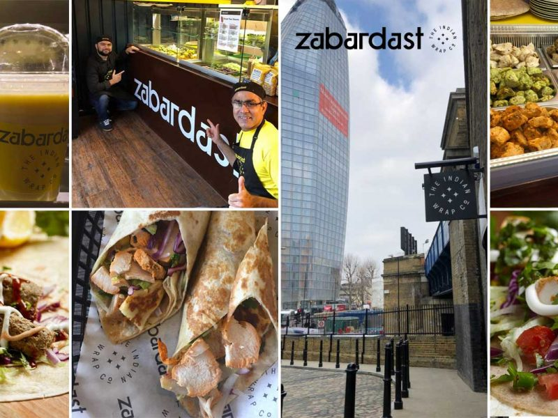 zabardast wraps indian bankside