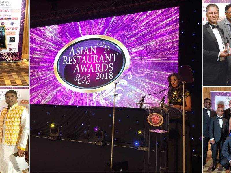 Asian Restaurant Awards 2018 Winners Halla