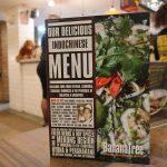 menu Banana Tree IndoChinese Halal Bayswater restaurant London
