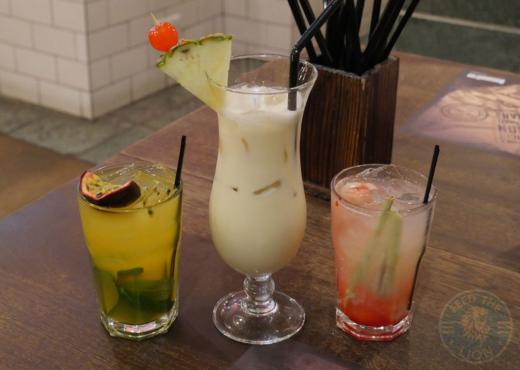 drink mocktails Banana Tree Indo-Chinese Halal Bayswater restaurant London